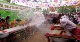 করোনা'র কারণে এবার হচ্ছে না সাংগ্রাই জল উৎসব !