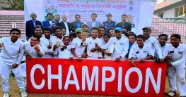 বান্দরবানে বঙ্গবন্ধু ন্যাশনাল ক্রিকেট প্রতিযোগিতার পুরস্কার বিতরণ