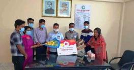বান্দরবানে করোনাকালীন সম্মুখযোদ্ধা হিসেবে কাজ করায় রেডক্রিসেন্টকে সম্মাননা প্রদান