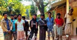 বান্দরবানের লামা থেকে ১০ রোহিঙ্গা শ্রমিক আটক