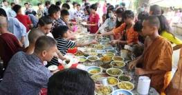 বান্দরবানে স্বাস্থ্যবিধি মেনেপ্রবারণা উৎসব