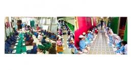 বান্দরবানেরএতিমখানায় কেন্দ্রীয় ছাত্রলীগ নেতারবিন বাহাদুরের উদ্যোগে ইফতার বিতরণ