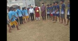 বান্দরবানের থানচিতেভলিবল প্রতিযোগিতা ও পুরস্কার বিতরণী
