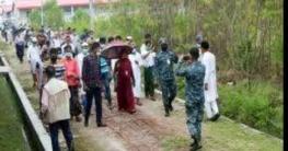 ভাসানচর দেখে খুশি রোহিঙ্গা প্রতিনিধি দল
