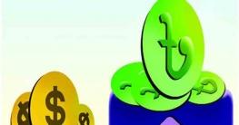 শক্তিশালী টাকা :মার্কিন ডলার ও ভারতীয় রুপীর বিপরীতে