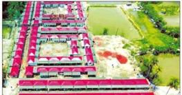 নন্দিত ডিজাইনে 'শতবর্ষ' আশ্রয়ণ প্রকল্প উদ্বোধনের অপেক্ষায়