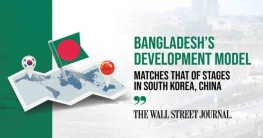 Bangladesh's development model matches that of stages in South Korea, China: WSJ