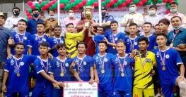 বান্দরবানে বঙ্গবন্ধু ও বঙ্গমাতা জাতীয় ফুটবল টুর্ণামেন্ট এর সমাপনী