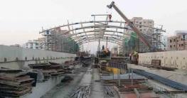 করোনাকালেও উড়াল রেলপথ নির্মাণে উড়ন্ত গতি