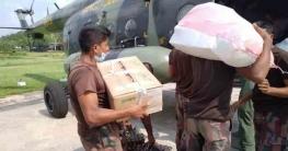 বান্দরবানেরথানচিতে ডায়রিয়া আক্রান্তদের চিকিৎসা সহায়তা প্রদান করলো সেনাবাহিনী