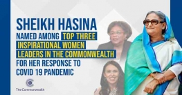Sheikh Hasina named among top three`inspirational`women leaders in Commonwealth