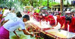 তিন র্পাবত্য জেলায় এবার রংহীন 'বৈসাবি'