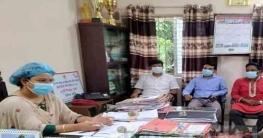 বান্দরবানেরনাইক্ষ্যংছড়িরইউএনও'র সাথে সাংবাদিকদের সৌজন্য সাক্ষাৎ