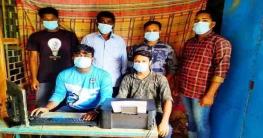 বান্দরবানে যুবকের উদ্যোগে ফ্রি করোনা ভ্যাকসিন রেজিষ্ট্রেশন করতে ক্যাম্প চালু