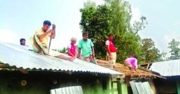 পীরগঞ্জে ক্ষতিগ্রস্ত সংখ্যালঘুরা স্বাভাবিক জীবনে ফিরছেন নির্মিত হচ্ছে নতুন বাড়ি